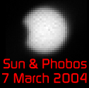 eclipse of the sun by Phobos